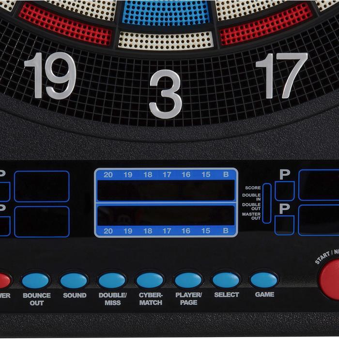 Dartscheibe ED520 Softdart elektronisch mit 12 Pfeilen