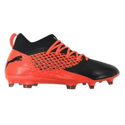 Voetbalschoenen Future 2.3 FG volwassenen oranje/zwart