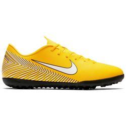 Chaussure de football adulte Vapor X Club HG noire jaune rouge