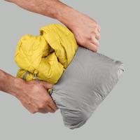 Veste Junior de randonnée en montagne TREK 100 capuche jaune - Hommes