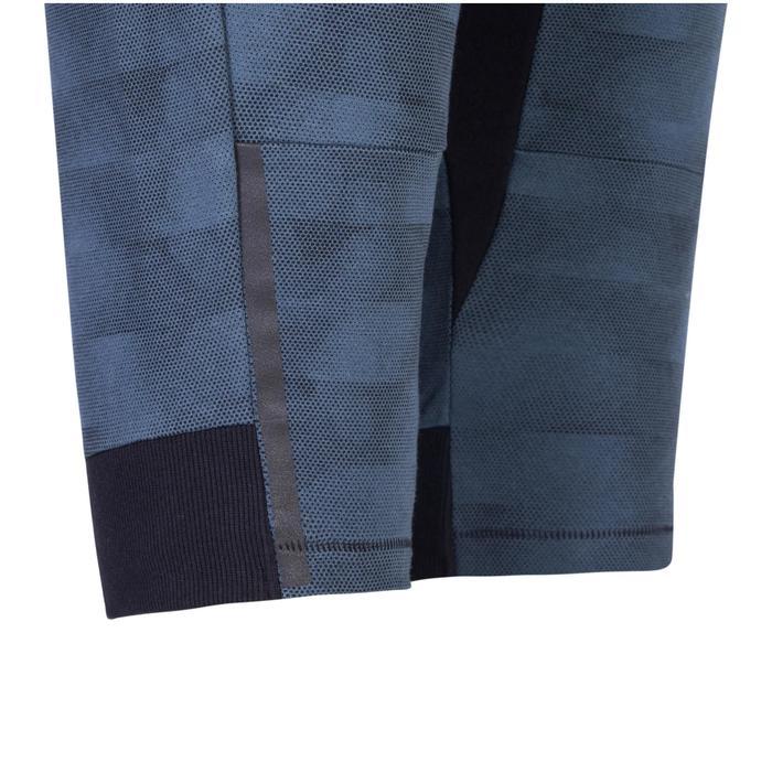 修身剪裁健身與皮拉提斯短褲900 - 藍色