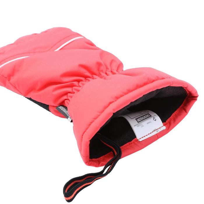 SKI-P GL 100 Adult Ski Gloves - Coral