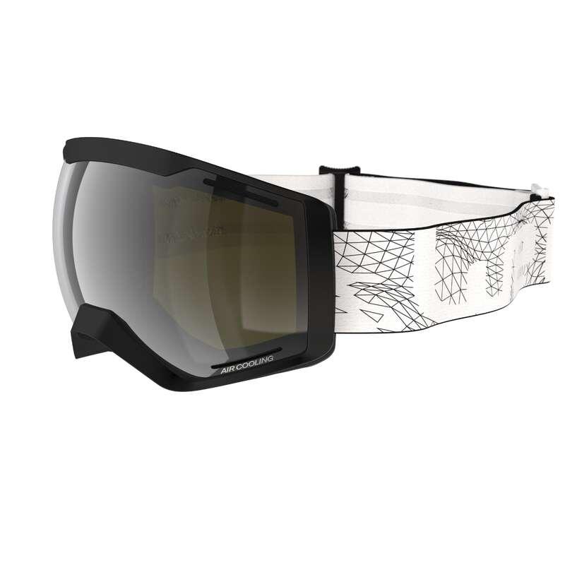 SKI AND SNOWBOARD GOGGLES - G 540 B S3 - Black WEDZE