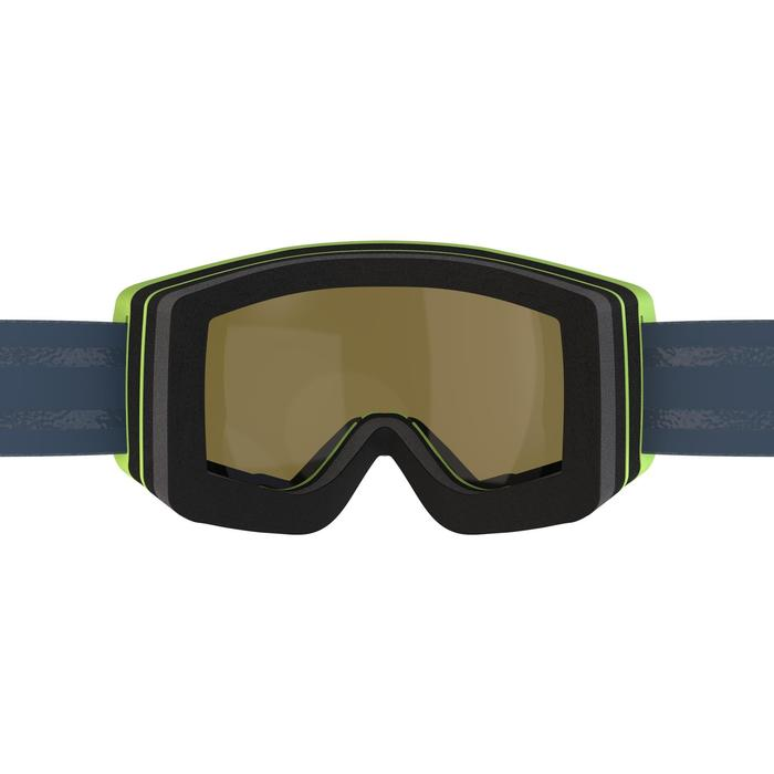Skibrille Snowboardbrille G 540 B S3 Schönwetter Erwachsene/Kinder schwarz