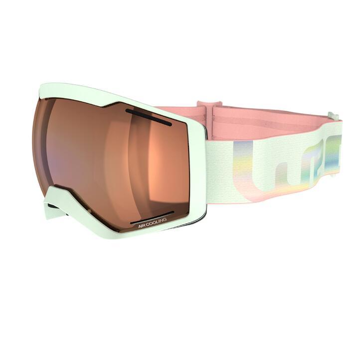 Skibrille Snowboardbrille G 540 B S3 Damen/Mädchen Schönwetter blau/schwarz