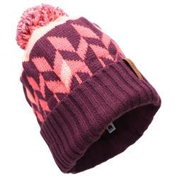 成人滑雪帽Far North - 紫紅色/粉紅色