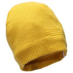 成人滑雪帽Pure - 土黃色