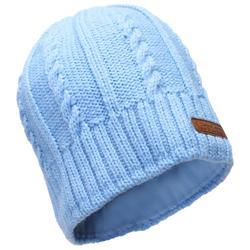 兒童滑雪帽TWIST - 藍色