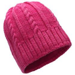 兒童滑雪帽TWIST - 粉紅色