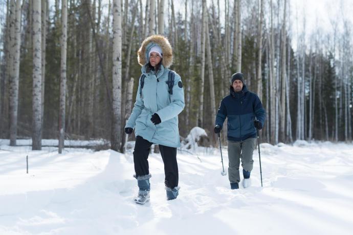 Snow hiking jacket