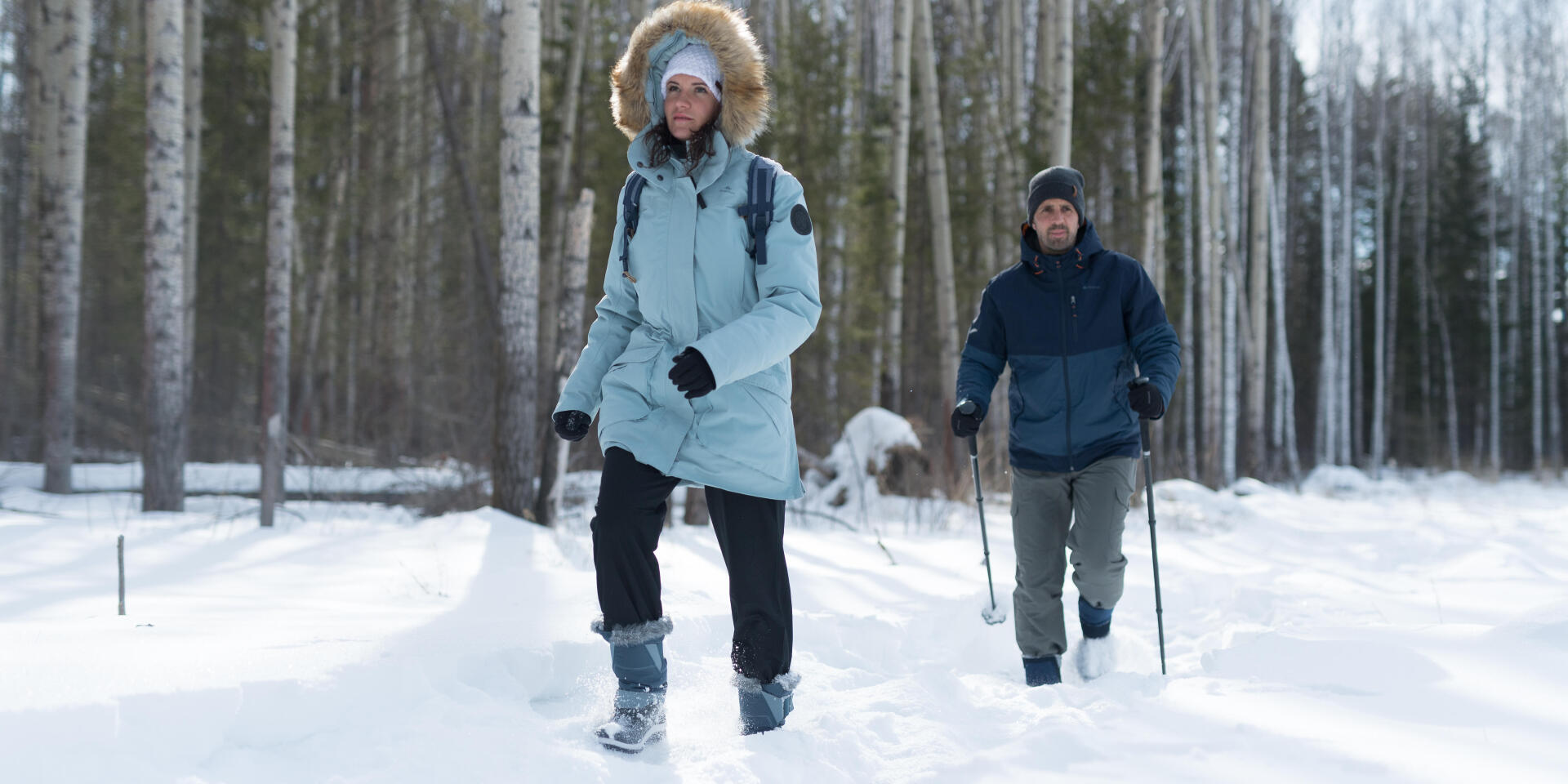 Hiking on snow: high or low boots?