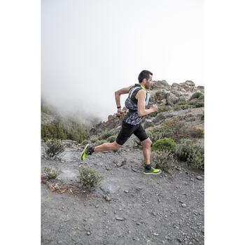 CHALECO TRAIL RUNNING 5L PORTABIDÓN GRIS AMARILLO