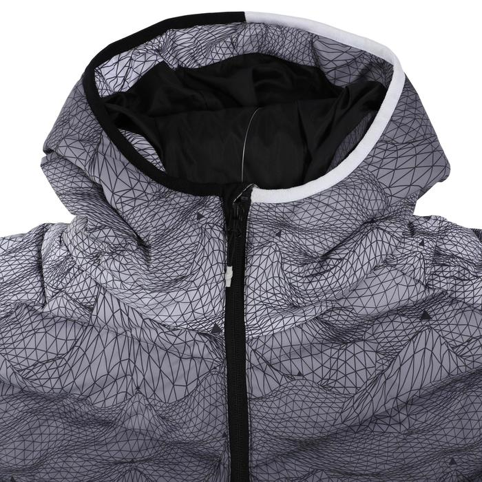 Ski-P 500 Warm Men's Ski Down Jacket - White Black