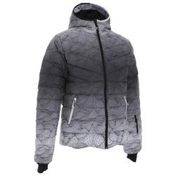 Ski-P 500 Warm Men's Ski Down Jacket - White Black