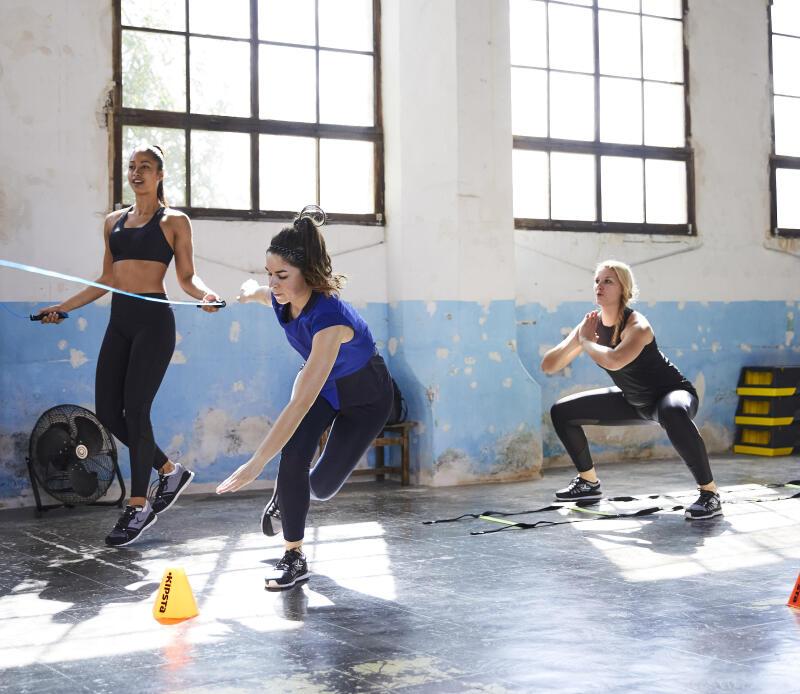 domyos cardio challenge squat