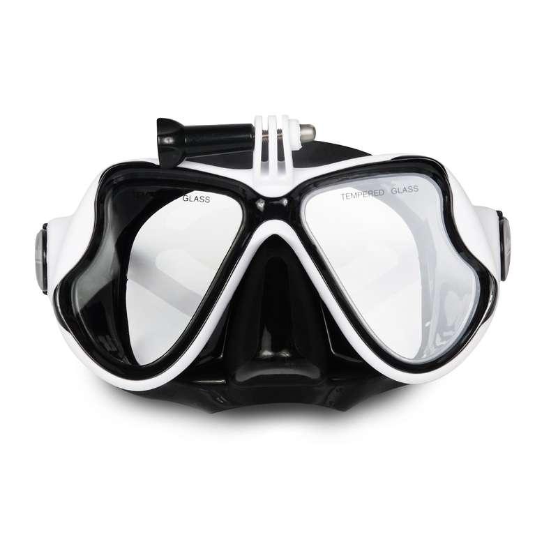 MASKI I RURKI SCD Nurkowanie - Flow cam PILINE - Maski, fajki, płetwy do nurkowania BLACK