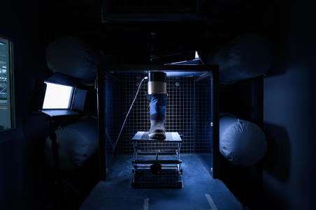BOTAS SENDERISMO DE NIEVE HOMBRE SH500 X-WARM NEGRO