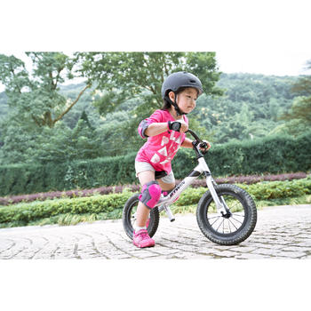 Run Ride 900 12-Inch Kids' Balance Bike - Silver