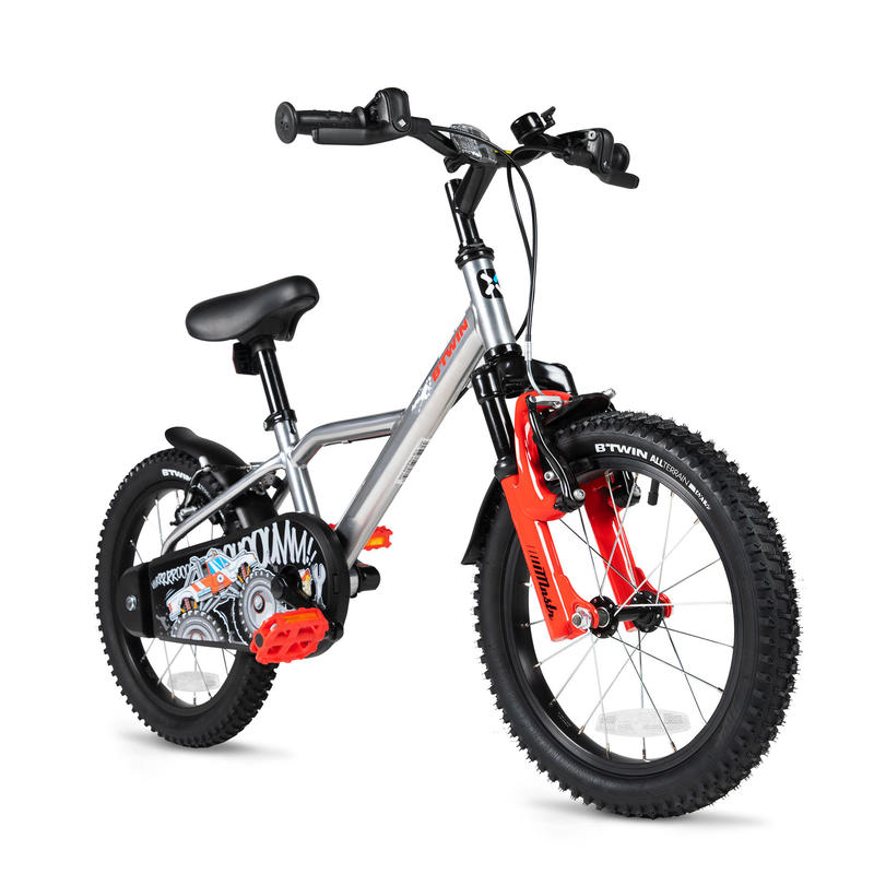 "BTWIN MONSTER TRUCK 16"" KIDS BIKE"
