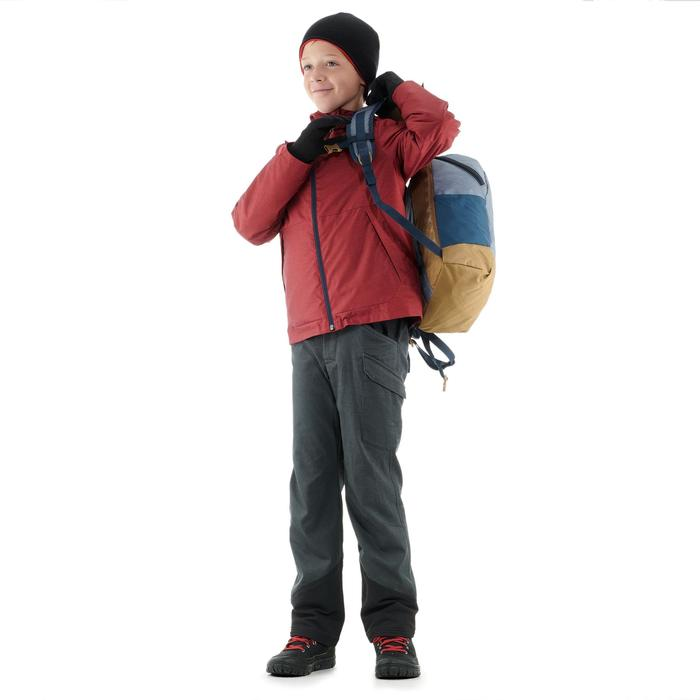 Kinderbroek voor sneeuwwandelen SH100 warm grijs