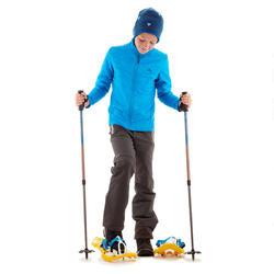 Kid's Snow Hiking Pants SH500 (X-Warm) - Grey