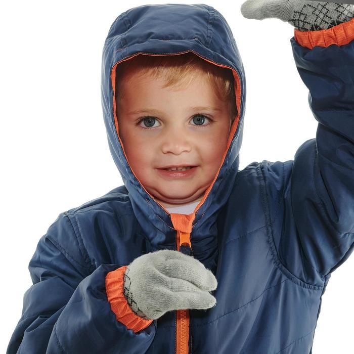 Wanderjacke wendbar SH100 Warm Kinder orange