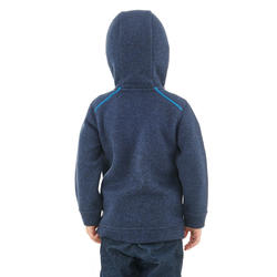 SH100 Warm Junior Winter Hiking Fleece - Navy