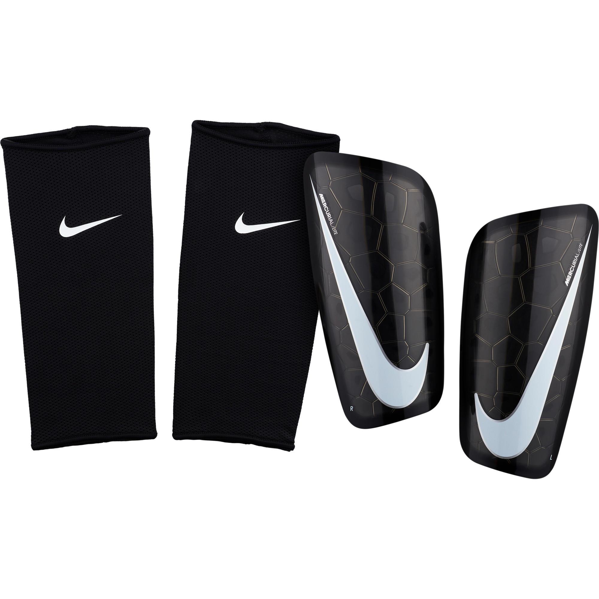1831eee2a01 Nike Scheenbeschermers voetbal Mercurial Lite zwart | Decathlon.nl