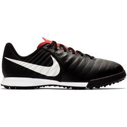 Botas de Fútbol Nike Tiempo Legend X HG Turf niños negro blanco
