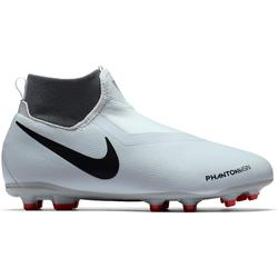 Voetbalschoenen kind Phantom Vision Academy Dynamic Fit MG wit/rood