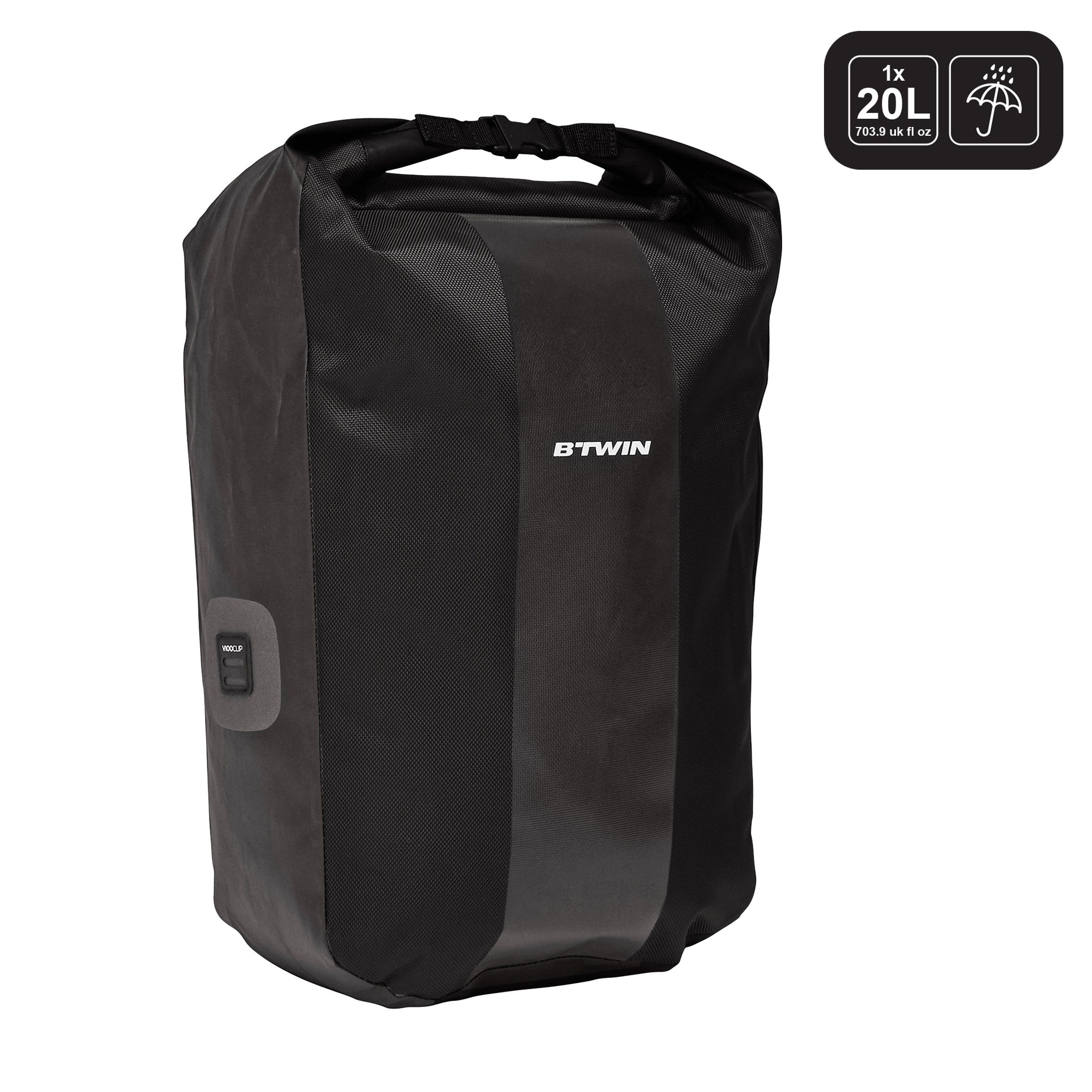 20 500 Ciclismo Equipajes Impermeable Porta Negro L Bolso 6ygYfb7