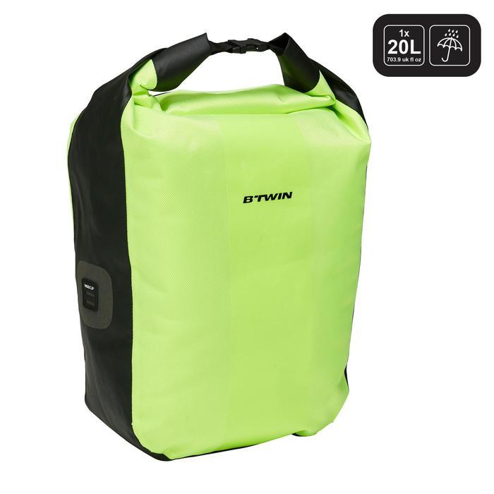 Fietstas 500 20 liter voor bagagedrager waterdicht - 1521675