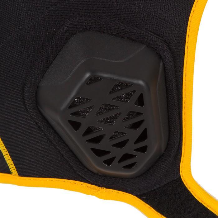 Bonnet water polo 500 junior easyplay à scratch noir