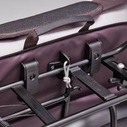 Fahrradtassche Businessbag 500 15l lila/beige