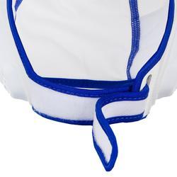 Set van 15 badmutsen voor waterpolo kinderen Easyplay wit