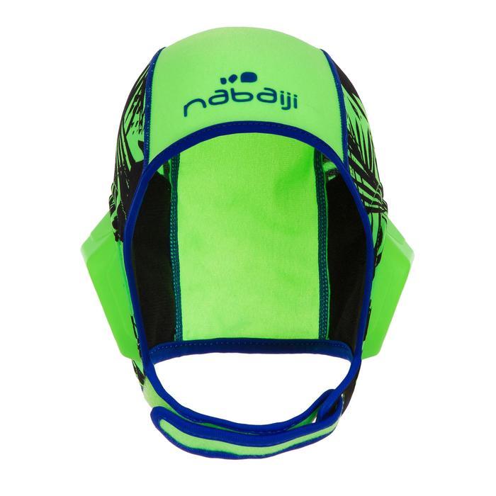 Waterpolobadmuts voor kinderen 500 Easyplay met klittenbandsluiting groen