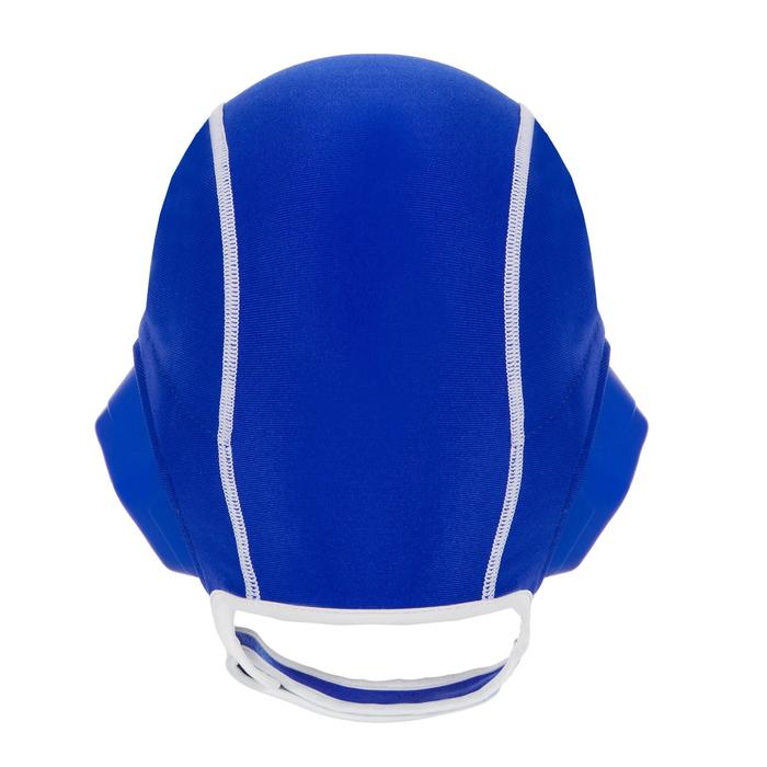 Bonnet water polo junior easyplay à scratch bleu