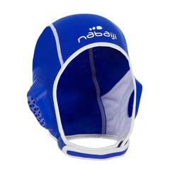 Bonnet water polo junior easyplay à scratch bleu