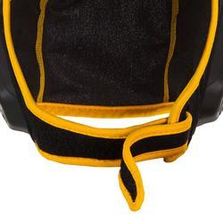 Waterpolobadmuts voor kinderen 500 met klittenband zwart