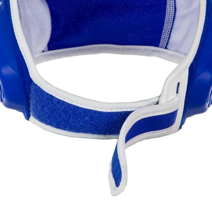 Wasserball-Kappe 500 Easyplay Kinder Klettverschluss blau