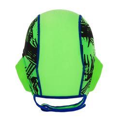 Wasserball-Kappe 500 Easyplay Kinder Klettverschluss grün