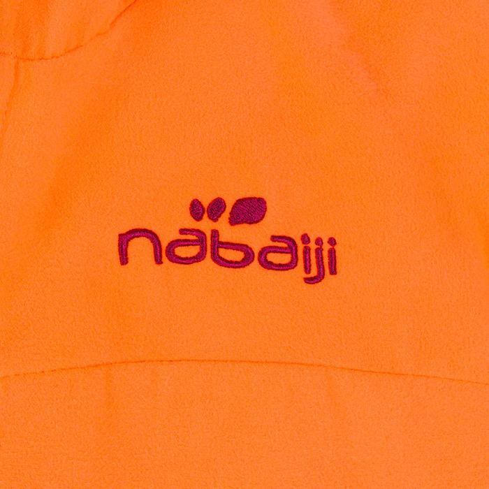 Pack peignoir et serviette L (80*130cm) microfibre enfant orange