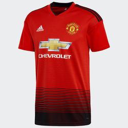 Maillot réplique de football adulte Manchester United domicile rouge.
