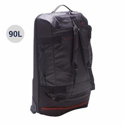 Away Wheeled Sports Bag 90 Litres - Black/Red