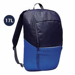 Sac à dos Classic 17 litres bleu foncé et bleu indigo