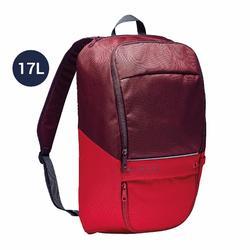 Rugzak Classic 17 liter rood/bordeaux