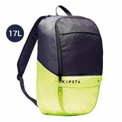 Classic 17-Litre Backpack - Carbon Grey and Neon Yellow