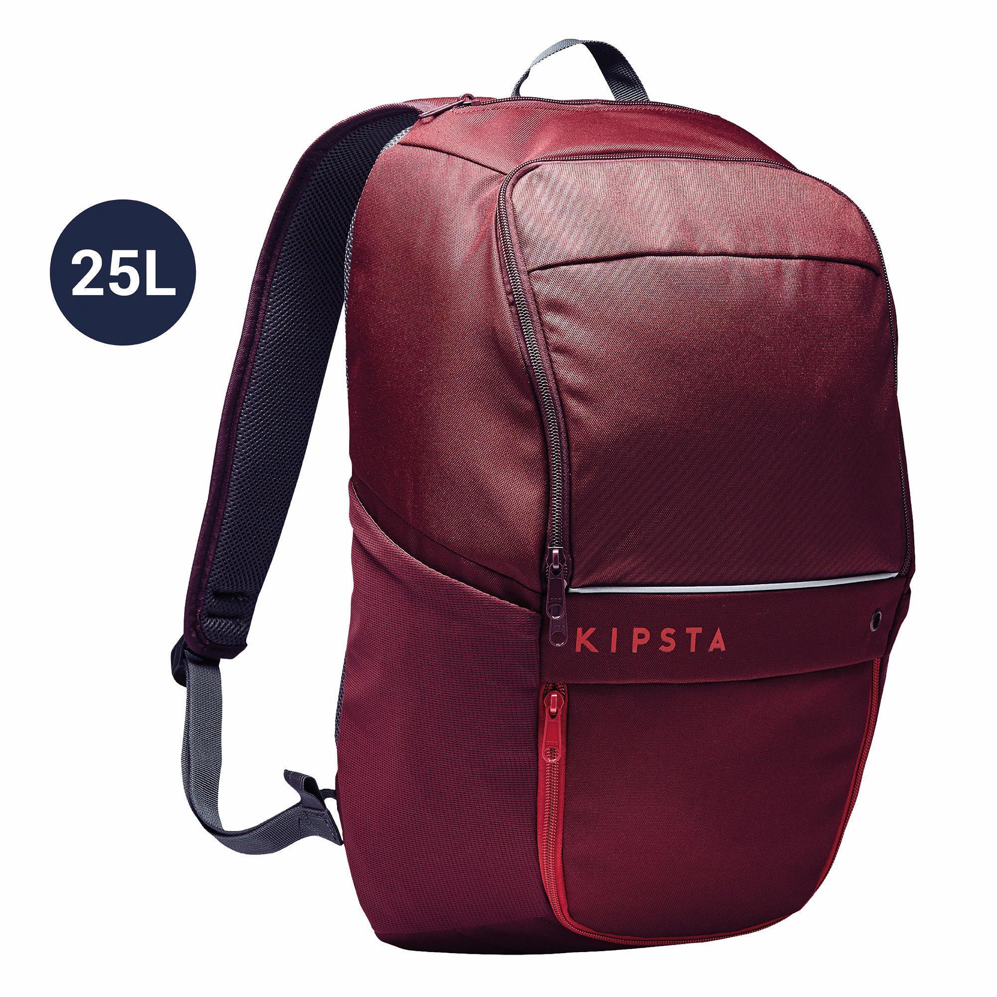 Kipsta Rugzak Classic 25 liter rood