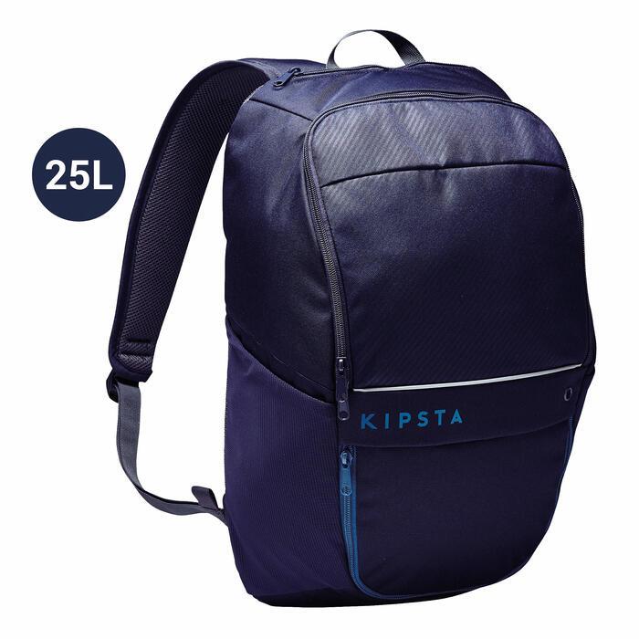 Rugzak voor teamsport Classic 25 liter blauw/zwart/pruisisch blauw