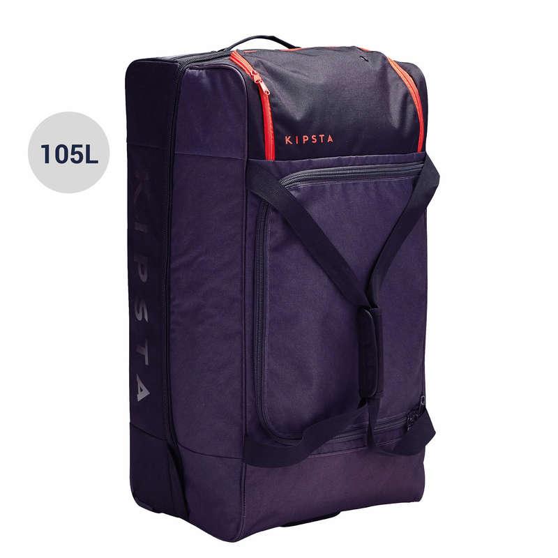 BAG TEAM SPORT Rugby - Classic 105L - Grey/Red KIPSTA - Rugby